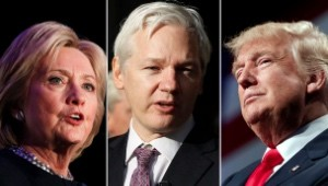 clinton-assange-trump